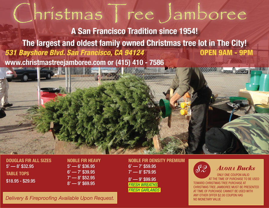 Our client Christmas Tree Jamboree.